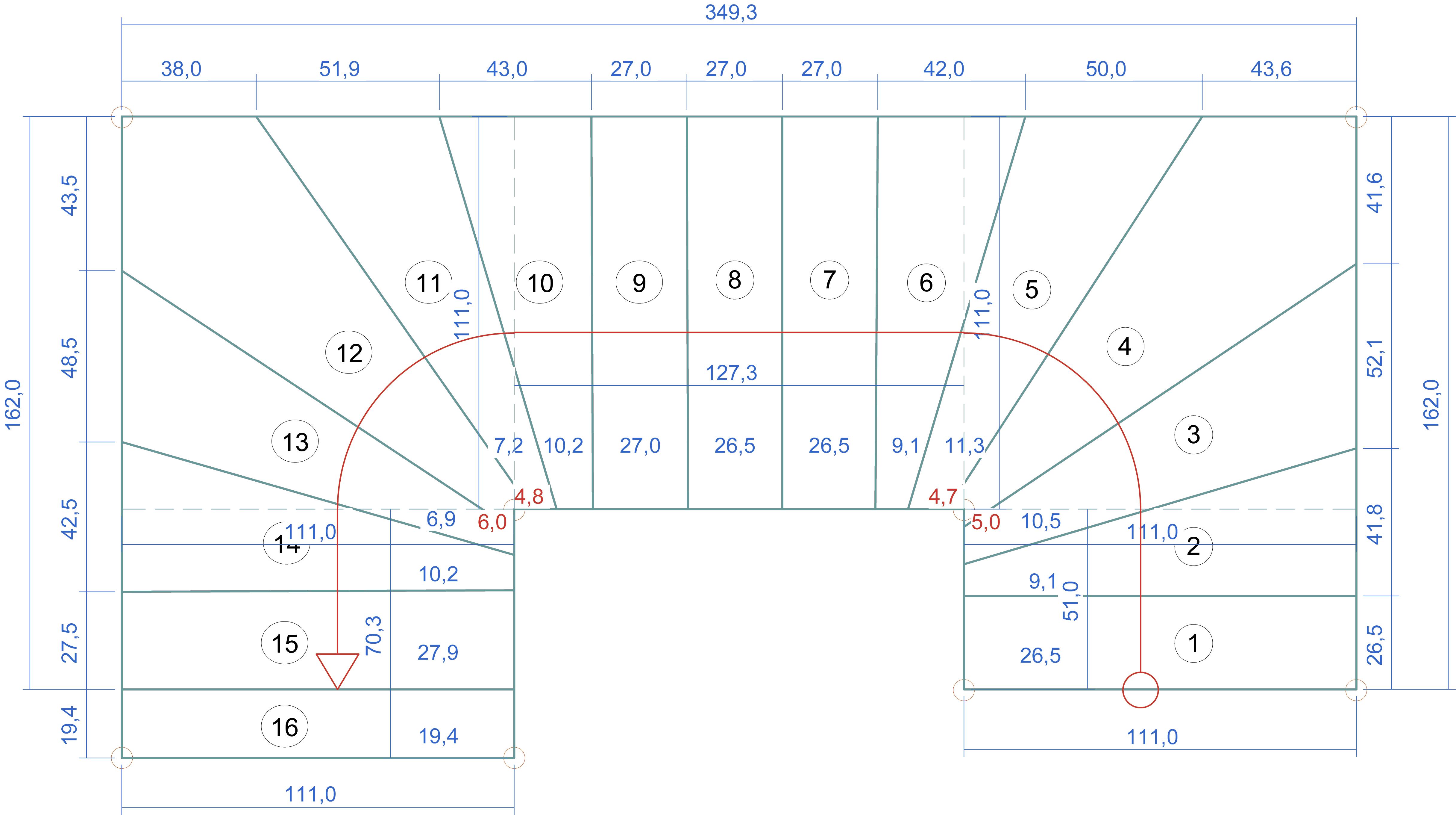 Gewendelte Treppe Konstruieren g654 padang dunkel